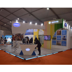 Customized Corporate Exhibition Stand