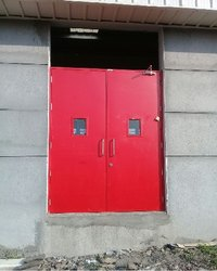 Color Coated Steel Door