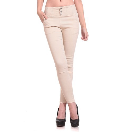 54e681e9a38de Plain Beige, Crteam & Black Ladies Jegging (Clearance Sale), Rs 199 ...