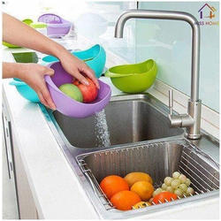 Gade Round Washing Bowl Colander, For Anywhere