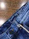 French Knitted Denim Shorts