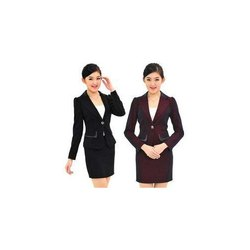 Poly Cotton Women Corporate Blazer