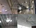 Three Phase Jumbo Airport - 5 Blade Industrial Hvls Fan