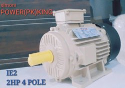960- 2880 RPM Single Or Three Industrial Electric Motor, Power: 0.5 To 10 Hp