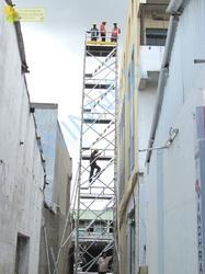 Scaffold Tower Aluminum With Stairway