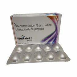 Rabeprazole Sodium Enteric Coated And Levosulpiride SR Capsules (WESRAB-LS)