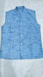 Party Mens Designer Cotton Waistcoat, Size: S-XXL