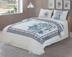 Designer Printed Bedsheet for Double Bed
