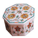 White Marble Decorative Box