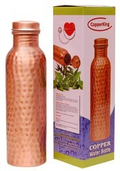 Copper King Hammered Water Bottle