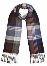 Check Woolen Scarves