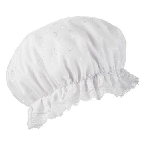 White Shower Cap