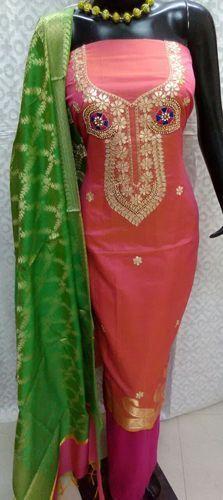 21abf7aaf0 Unstitched Ladies Gota Patti Suit, Rs 1550 /piece, Aaditri Clothing ...