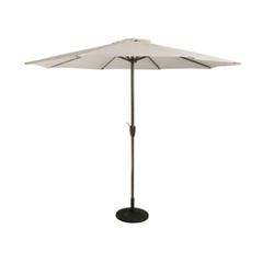 White Center Pole Garden Umbrella