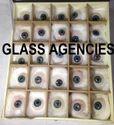 Artificial Blue Eye Box of 25 Pieces