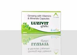 Ginseng Vitamins Minerals, 10*10 Alu Alu Pack
