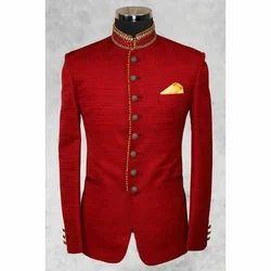 Red Designer Jodhpuri Coat