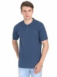 Cotton Plain Promotional Polo Neck T Shirts