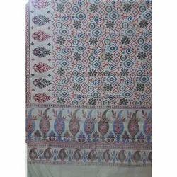 Multicolor Kalamkari Printed Fabric