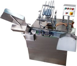 Four Head Ampoule Filling And Sealing Machine