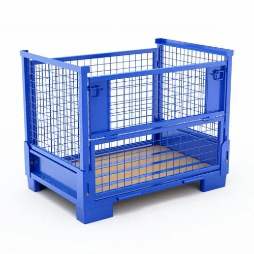 MS,SS Collapsible Metal Pallets, Rs 9500 /piece MISA Supply Chain Solutions  | ID: 22169023230