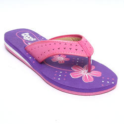 Women Eva Pink Slipper, Size: 3 to 8