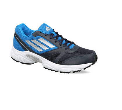 best loved cec9f 09d27 Adidas Night Navy Blue and Primal Blue mens running razor m1 plus shoes