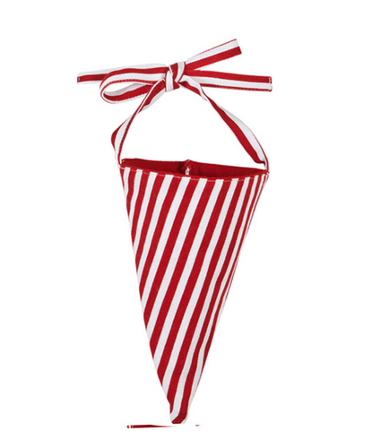 Red/white Candy Cane Cone