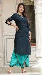 Designer Ladies Kurti With Palazzo