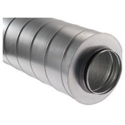 Sound Attenuator Round Duct Silencer