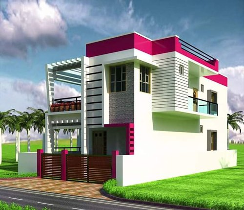 Terrific Duplex House Elevation Design And House Design Service Beutiful Home Inspiration Aditmahrainfo