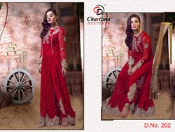 CD Charizma Vol-4 Series 201-203  Stylish Party Wear Poly Georgette Suit