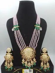 Antique Kundan Mala P.Sets