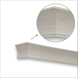Stud Cedar White Window Pelmets