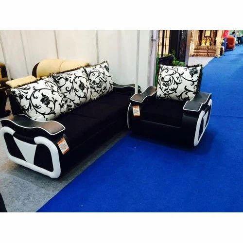 Black And White Designer Sofa Set