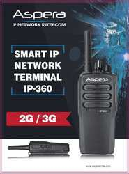 Aspera Ip 360 Two-way Radio
