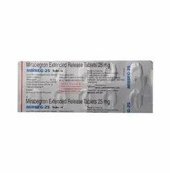 Mirbeg -25 mg ( Mirabegron )