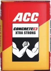 OPC(Ordinary Portland Cement) ACC Concrete Plus Cement, Packaging Type: Paper Sack Bag, Cement Grade: Grade 53