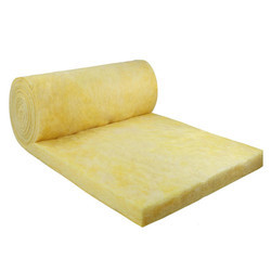 Yellow Fiber Glass Wool, Density:10-100 kg/m3