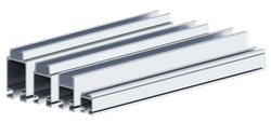 Industrial KBK Aluminium Rail