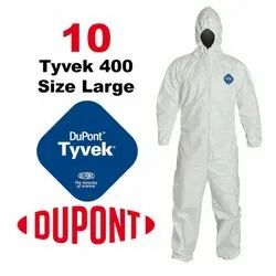 DuPont Tyvek 400 Protective Coverall With Hood
