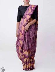 Unnati Printed Art Jute Silk Saree