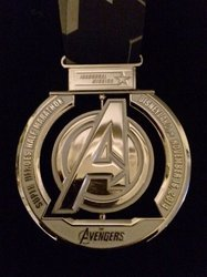 Avengers Medals Awards