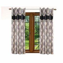 Cotton Canvas Window Curtain