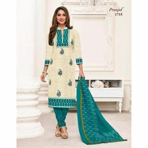 76e59004ae Pranjul Cotton Printed Dress Material, GSM: 200-250, Rs 365 /unit ...