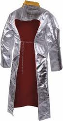 Aluminized Back Open Coat