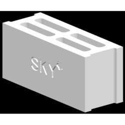 Rectangular 6 Inch High Pressure Hollow Block, Size (Inches): 6