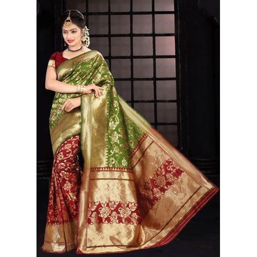 c508b1ceff Party Wear Ladies Designer Silk Saree, Length: 5.5 M, Rs 400 /piece ...