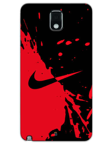 official photos cea4c 391d9 Nike Black Red Samsung Mobile Cover