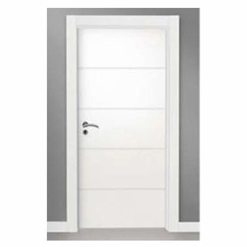 Wood Waterproof Bathroom Door Rs 2500 Piece Bandhu Prem Aluminium